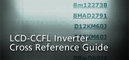... ccfl cross reference ... & ERG supports all major manufacturers of CCFL- and EL- backlit LCDs azcodes.com